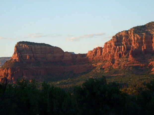 The amazing beauty of the red rocks. Sedona, Arizona.