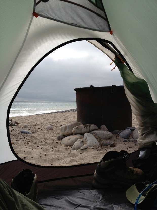 Thornhill Broome Beach. Just North of Malibu.  Imagine camping on the beach with a campfire !!
