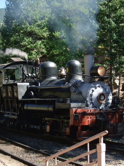 Steam Engine, Georgetown Loop Railroad.