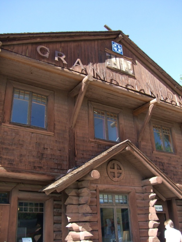The Grand Canyon Depot, built in 1910.